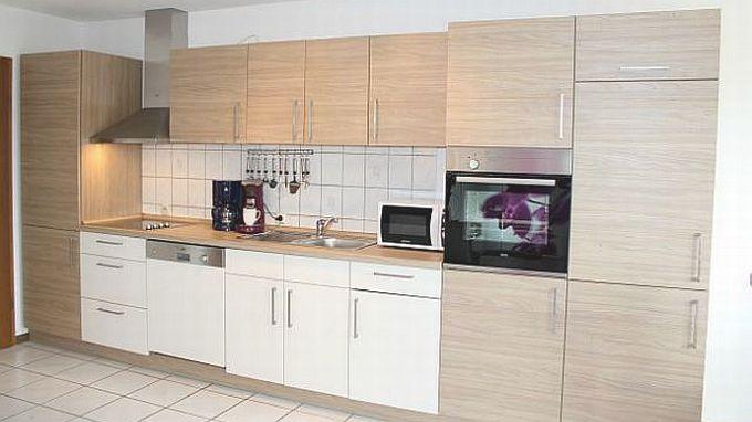 Küchenzeile Mit Hochbackofen Eifelexperte Villa1.de    Ferienwohnung Eifelmaar